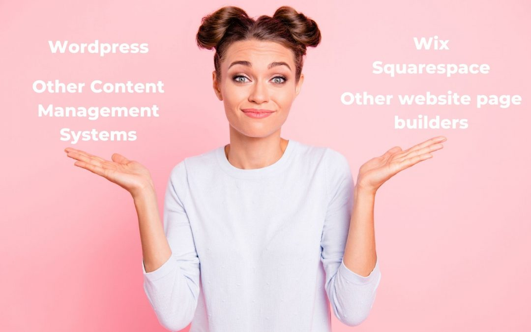 Why use an actual CMS over something like Squarespace or Wix?