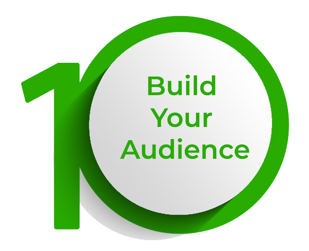 Click to build your audience