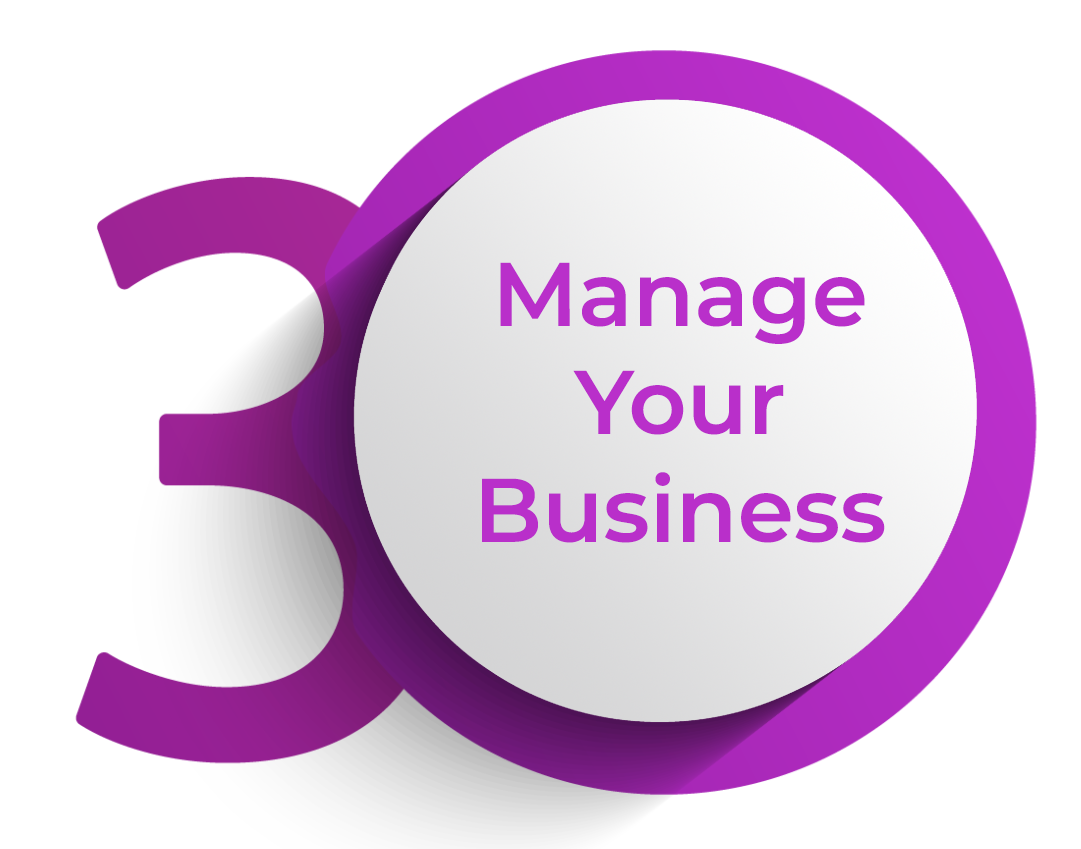 click to manage your business